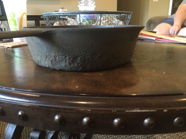 "Griswold cast iron pan 11"" in diameter ."