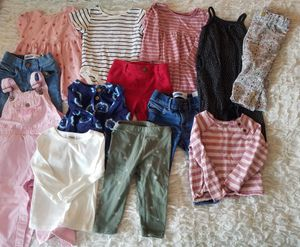 Oshkosh, Gymboree and Old Navy baby girl clothes for Sale in Everett, WA
