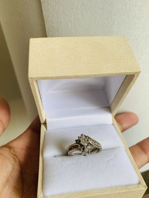 14k Genuine Gold diamond anniversary ring 4.75 for Sale in Washington, DC