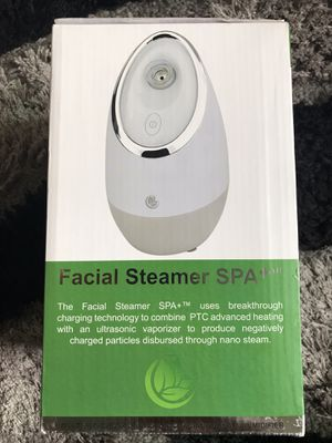 Facial Steamer SPA+ by Microderm Glo Nano Ionic Warm Mist Sauna & Humidifier for Sale in Rosemead, CA