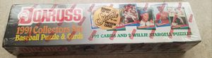 Baseball Cards 1991 Donruss Collectors Set 792 Cards Factory Sealed for Sale in Kyle, TX
