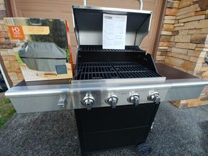 Fire king 4 burner gas grill brand new for Sale in Tacoma, WA