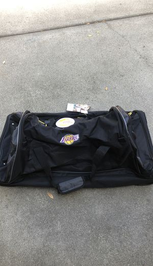 OFFICIAL LAKERS Oversized Rolling Duffle Bag for Sale in Arcadia, CA
