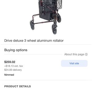 Walker | 3 Wheel Rollator for Sale in Boynton Beach, FL