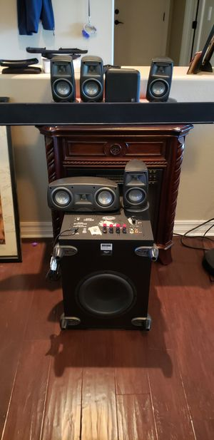 Klipsch home speakers, vizio sound bar, Boston speaker for Sale in Gilbert, AZ