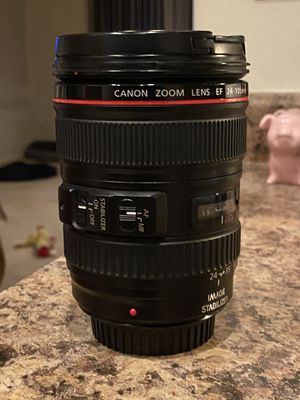 Canon 24-105mm lens for Sale in Tolleson, AZ