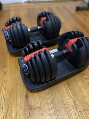 Dumbbells with bench for Sale in The Bronx, NY