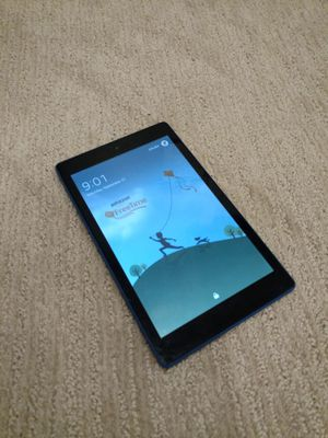 """Amazon Fire HD 8 Kindle Tablet (8"""" HD Display, 16 GB) - Blue for Sale in Vancouver, WA"""