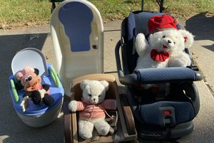 Baby/Toddler Car Seat, Booster, Potty Seat & Bathtub for Sale in Kalamazoo, MI