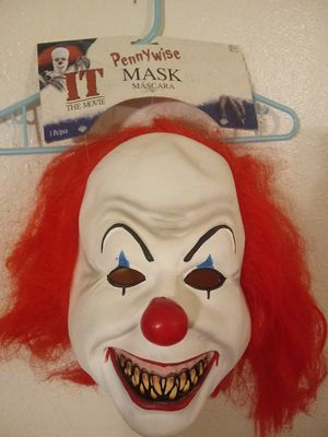 PENNY WISE ADULT MASK for Sale in Covina, CA