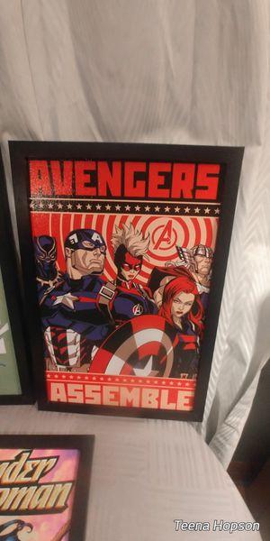 Avengers comic pictire for Sale in Bristol, VA