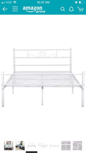 Full Metal Bed Frame for Sale in Madison, WI