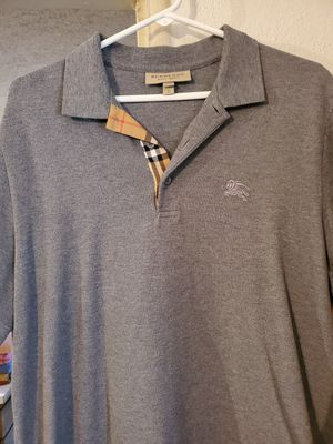 Grey Burberry Polo for Sale in Dallas, TX