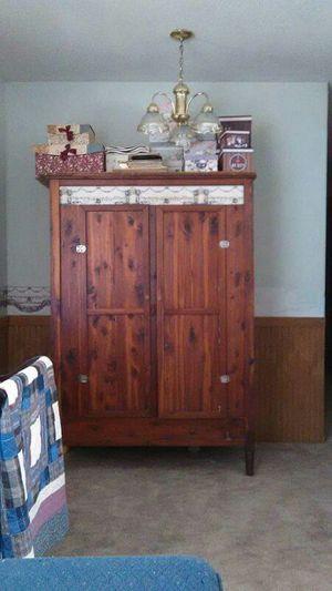 Antique Cedar Armoire for Sale in Fountain Inn, SC