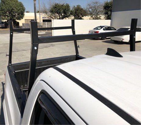 New in box 650 lbs capacity universal cargo ladder truck rack adjustable