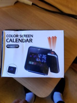 Color screen calander for Sale in Canonsburg, PA