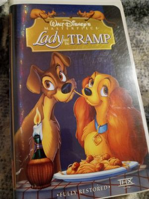 The Lady and the Tramp VHS for Sale in Wayne, MI