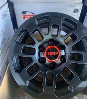 """17"""" TRD Replica Wheels Package Package Includes Rims & Tires - Complete Package $1099 for Sale in Huntington Beach, CA"""