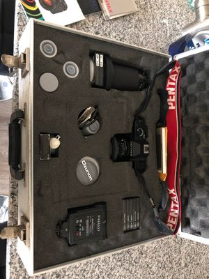 Pentax P3n with extra lens and filters for Sale in Chandler, AZ