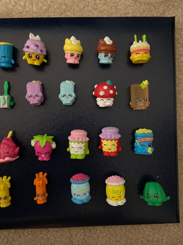 28 pc Shopkins Kids Toys + 1 mystery free