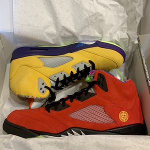"Air Jordan 5 ""What The"" Men's Size 13 for Sale in New Orleans, LA"