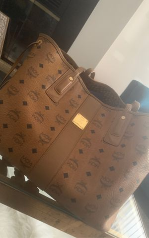 MCM bag with dust bag for Sale in Hillcrest Heights, MD