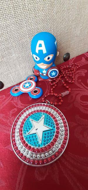 $3.50 Lot of Marvel Captain America Toys for Sale in Hemet, CA