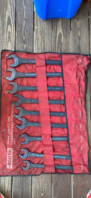 Irontron 10 pc JUMBO WRENCHS for Sale in Piedmont, SC