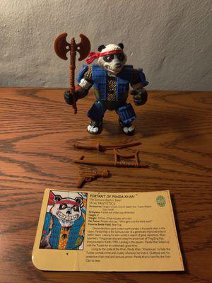 Teenage mutant Ninja turtles: panda Khan (complete with profile card) for Sale in Seattle, WA