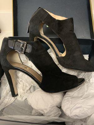 Louise et Cie Black suede cutout booties, 7.5 for Sale in Arlington, VA