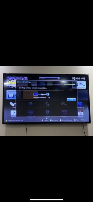 Samsung tv 55 inch for Sale in Los Angeles, CA