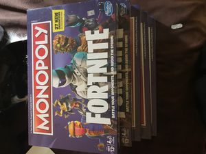 Fortnite Board Game Monopoly for Sale in Apple Valley, CA