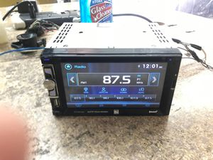 Double din car radio dvd dual for Sale in Newport News, VA