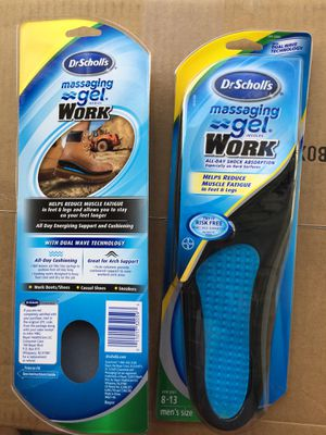 Work shoes/boots INSOLES for Sale in Saint Cloud, FL