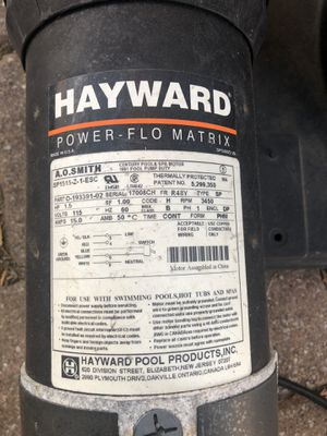 Used pool pump for Sale in Carteret, NJ