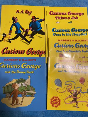 6 curious George books for Sale in Wallingford, CT