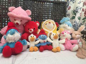 Kids toys Bunnies and teddy bears $.50 c for each for Sale in Richmond, VA