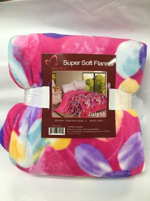 Flannel blanket brand new super soft quality for Sale in Salem, OR