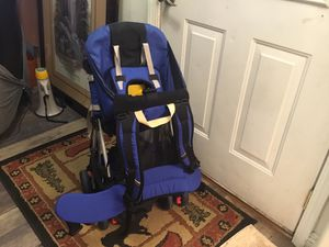 This is a back pack and Stroller for Sale in Darrington, WA