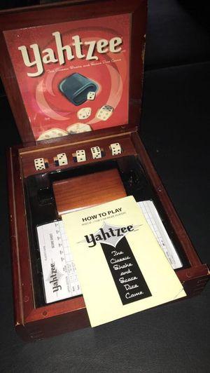 Yahtzee board game for Sale in El Mirage, AZ
