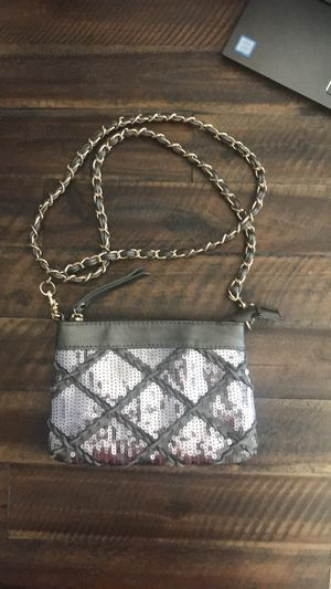 Big Buddha Taupe Sequin Bag with Gold Chain Strap - Retail price $55 for Sale in South Windsor, CT