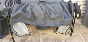 Jeep Wrangler JK 2008 (complete soft top) slightly bent.. I used it all of last year for Sale in Evansville, IN