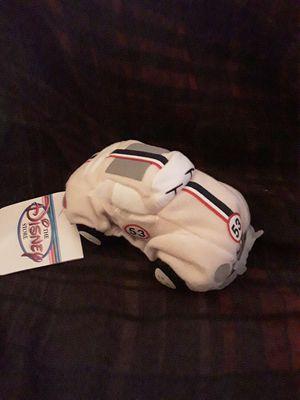 Disney Herbie the love bug beanie baby bean bag plush for Sale in Chino, CA