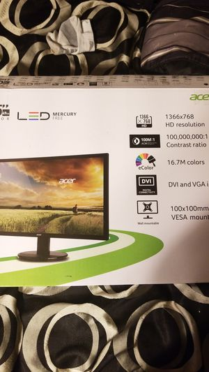 Acer LED Monitor 19.5 inch for Sale in Camden, AR
