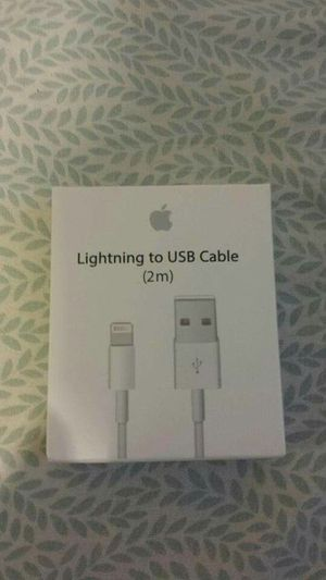 (2m) Apple IPhone Lightning Usb Cable for Sale in Lincoln Acres, CA