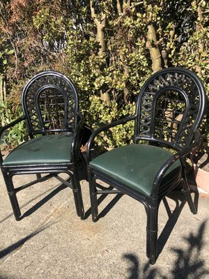2 rattan chairs from Philippines for Sale in Richmond, CA