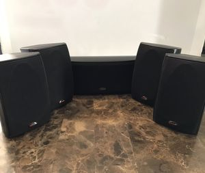 Polk Audio Set Of 5 Surround Sound Speakers RM6751, RM6752 for Sale in Carpentersville, IL
