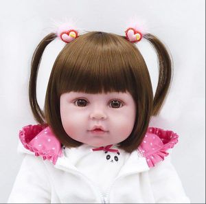 Panda Dress Reborn Baby Doll for Sale in Spring, TX