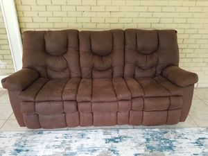 Reclining Sofa and Rocking Recliner - Ashley Furniture for Sale in Niceville, FL