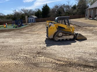 Bobcat skid steer work grading leveling. Sod installation for Sale in Dallas,  TX